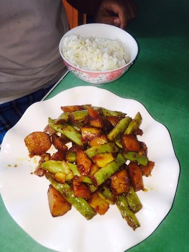 农家菜芸豆炖土豆(超级简单好吃)的做法图解9
