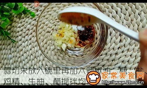 凉拌黄瓜卷的做法图解4