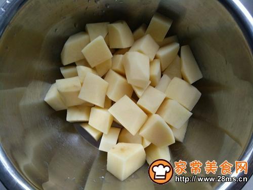咖喱土豆炖鸡腿的做法图解3