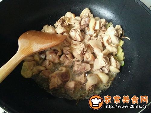 咖喱土豆炖鸡腿的做法图解5