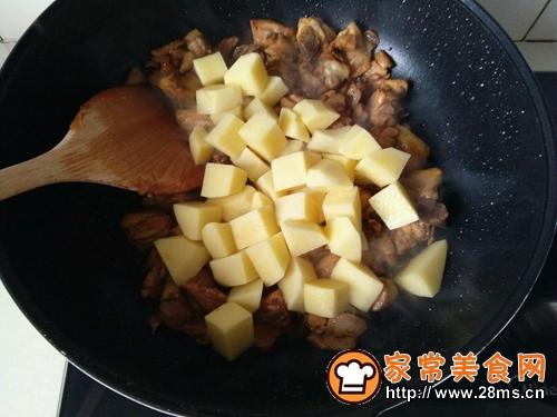 咖喱土豆炖鸡腿的做法图解7