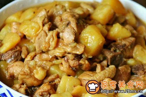 咖喱土豆炖鸡腿的做法图解11