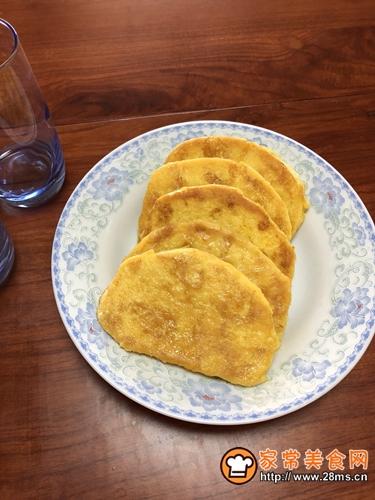 黄油煎面包片的做法图解7