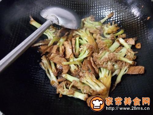 干锅花菜的做法图解8
