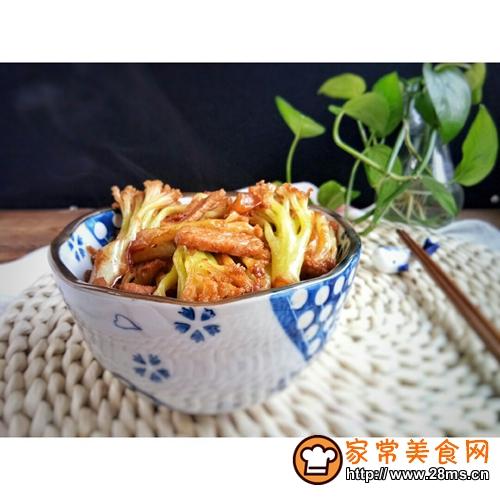 干锅花菜的做法图解9