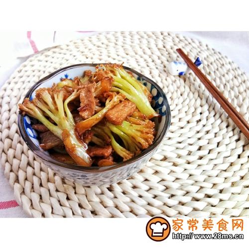 干锅花菜的做法图解10