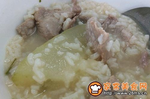 冬瓜瘦肉粥