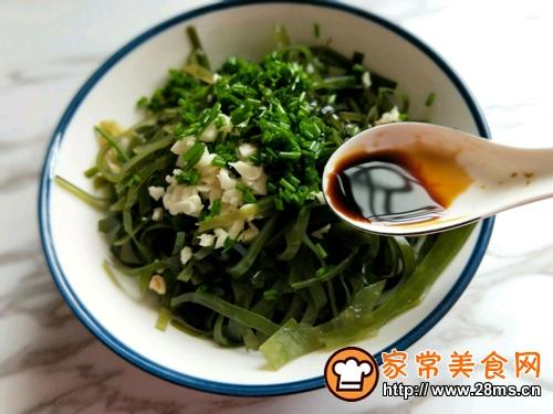 开胃菜~凉拌海带丝的做法图解6