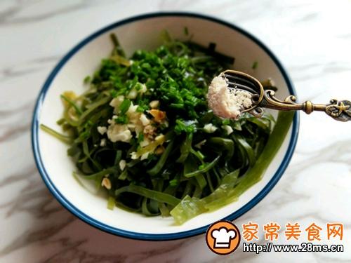 开胃菜~凉拌海带丝的做法图解10
