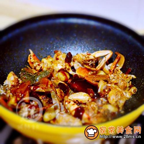 香辣蟹的做法图解6