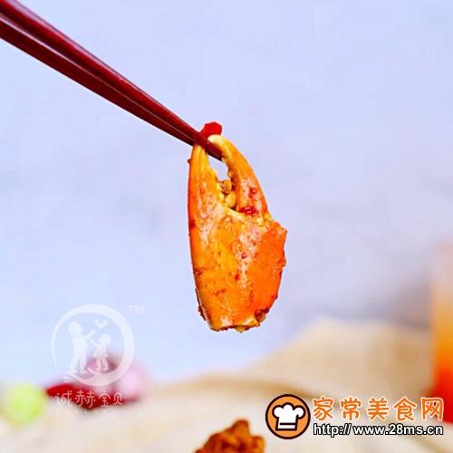香辣蟹的做法图解9