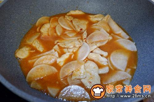 韩式萝卜鸡的做法图解12