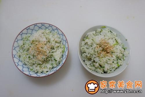 快手早餐—营养青菜饭的做法图解8