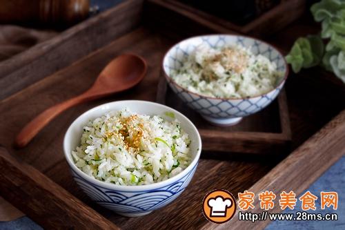 快手早餐—营养青菜饭的做法图解9