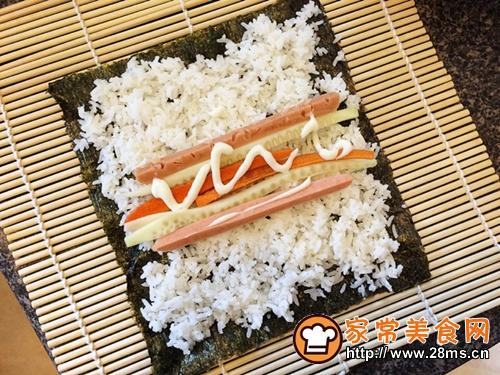 寿司拼盘的做法图解6