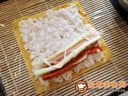 寿司拼盘的做法图解12