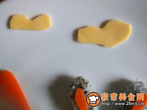 创意宝宝餐可爱的朱迪餐盘的做法图解7