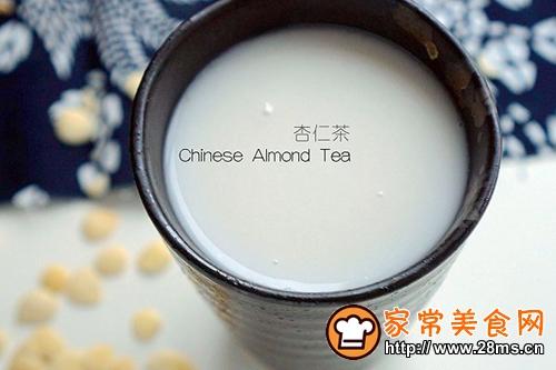 防燥养颜杏仁茶