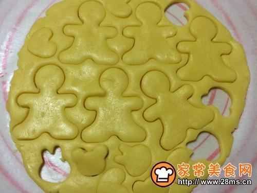 抱杏仁的呆萌小光头饼干的做法图解11