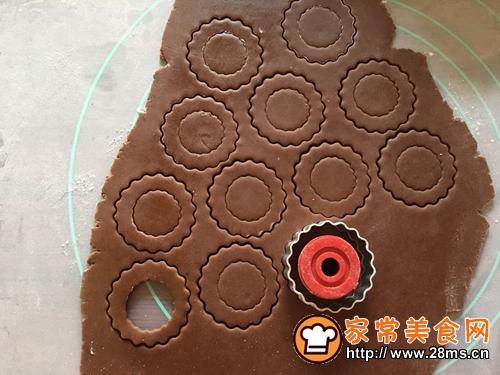 杏仁冰淇淋奶油饼干的做法图解6