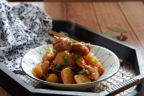 红烧鸡翅土豆的做法图解18
