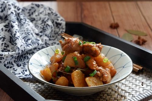 红烧鸡翅土豆的做法图解19