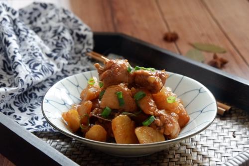 红烧鸡翅土豆的做法图解20