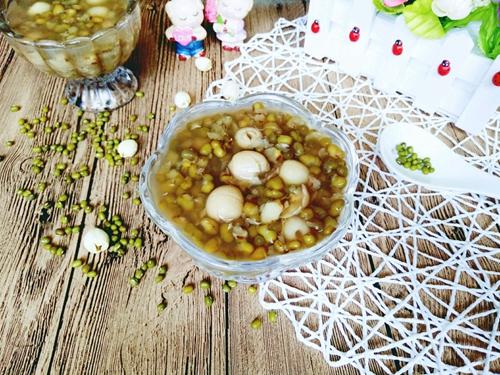 绿豆莲子汤的做法图解6