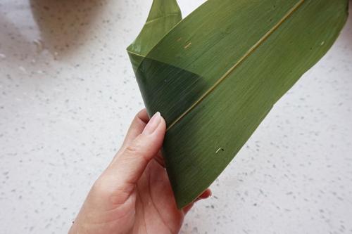 紫米八宝锥形粽子的做法图解9