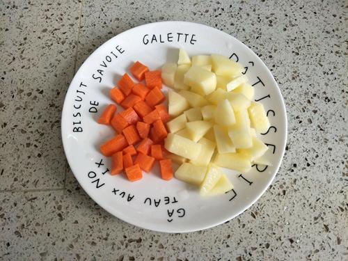 咖喱鸡排便当的做法图解7