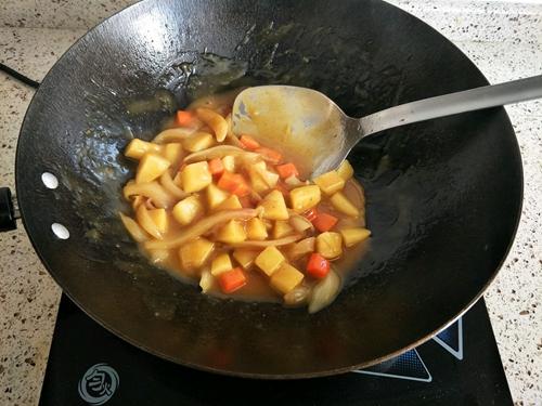 咖喱鸡排便当的做法图解12