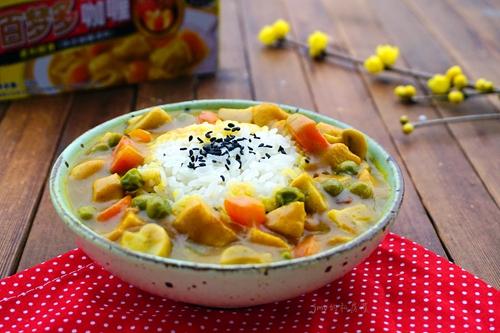 咖喱蘑菇鸡肉饭的做法图解14