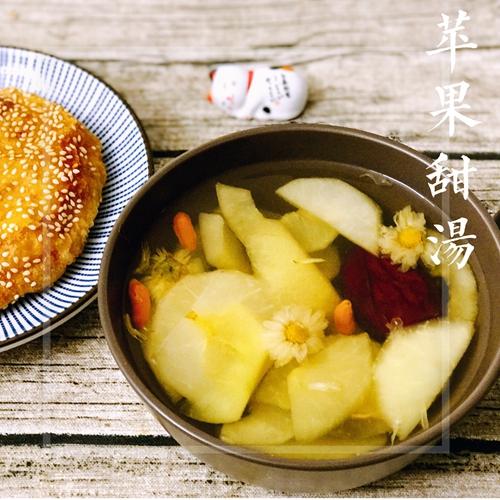 苹果桂圆红枣甜汤的做法图解7