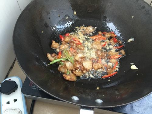 四季豆炒肉的做法图解3
