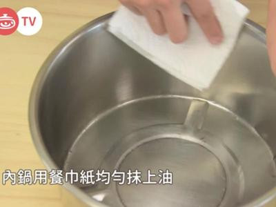 电锅萝蔔糕