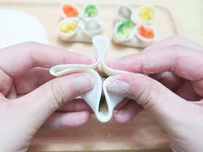 手工四喜饺子