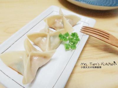 手工四角饺子