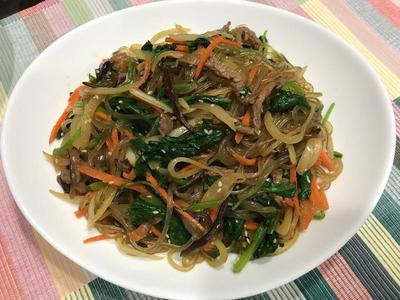 韩式拌冬粉(杂菜)