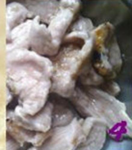 外酥里嫩的锅包肉的做法图解4