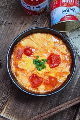 超级下饭的穆蒂樱桃番茄鸡蛋汤的做法图解8