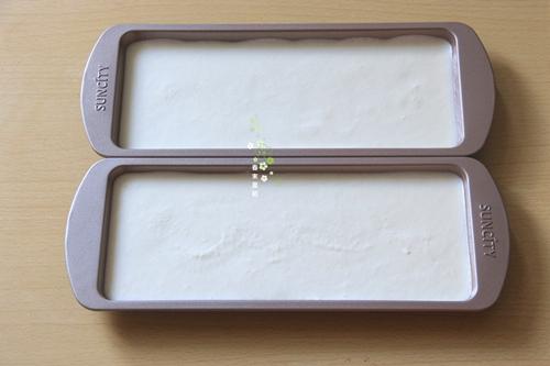 冰淇淋抹茶慕斯双色蛋糕的做法图解5