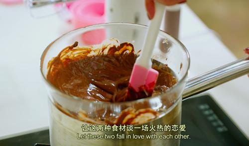 樱桃黑巧半冷冻冰激淋的做法图解1