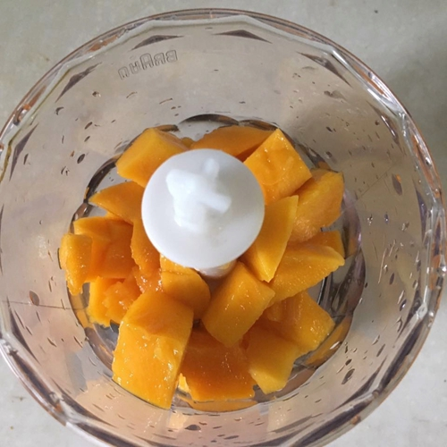 芒果奶油慕斯杯的做法图解4