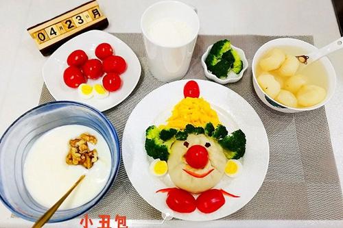 小丑包子(童趣早餐)