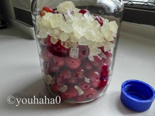 自制樱桃果酒的做法图解2