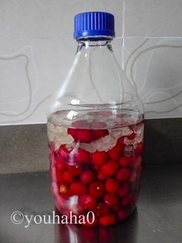 自制樱桃果酒的做法图解4