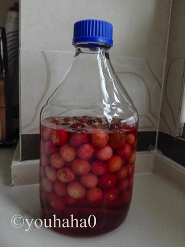 自制樱桃果酒的做法图解5