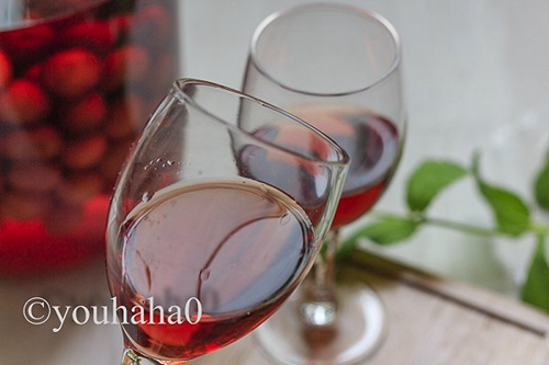 自制樱桃果酒