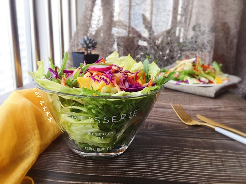 彩蔬沙拉的做法图解3
