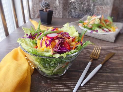 彩蔬沙拉的做法图解4